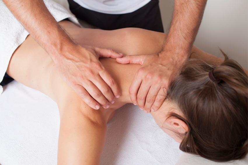 Massage at Claygate Clinic